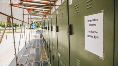 Lockers voor daklozen moeten dicht