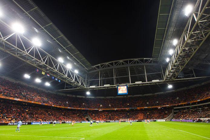 Zien we Oranje komende zomer drie keer in actie in de Johan Cruijff Arena?