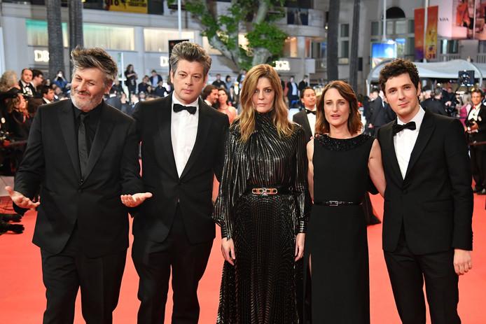Christophe Honore, Benjamin Biolay, Chiara Mastroianni, Camille Cottin et Vincent Lacoste
