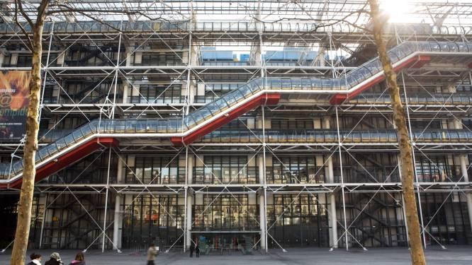 Centre Pompidou in Parijs gaat vanaf 2023 vier jaar dicht voor renovatie