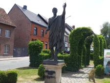Une statue de... Jules César vandalisée en Flandre