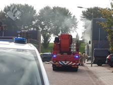 Grote brand bij spuitcabine in Vlaardingen