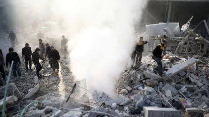 """""""Minstens 15 doden bij bombardementen op Syrisch rebellengebied"""""""