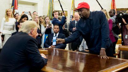 Verwarring compleet: Kanye West stelt zich nu toch weer kandidaat voor presidentschap