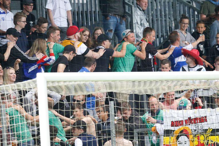 Fans van Eupen am Kehrweg.
