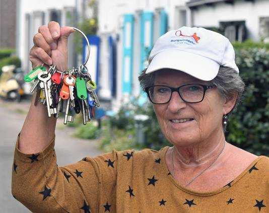 Tonny-Lia van der Salm is de 'burgemeester' die altijd uitkomst biedt.