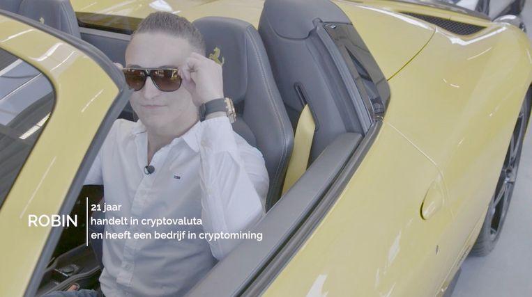Documentaire 'Bitcoin: naar de maan en terug' Beeld Powned