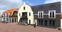 Het vooraanzicht van Schaardijk, zoals het er vanaf de Dorpsstraat gezien uitziet