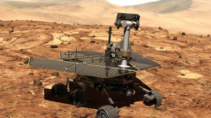 NASA bezorgd om Mars-rover die batterijen niet kan opladen door storm