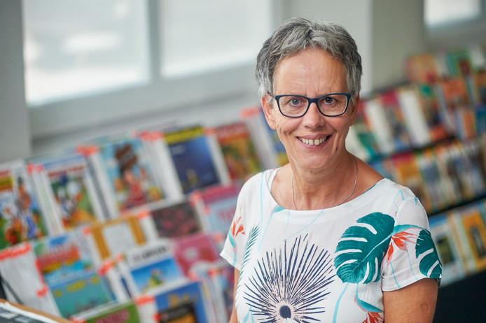 Jeanne Mezenberg-van de Wetering is nog regelmatig in de bibliotheek te vinden.