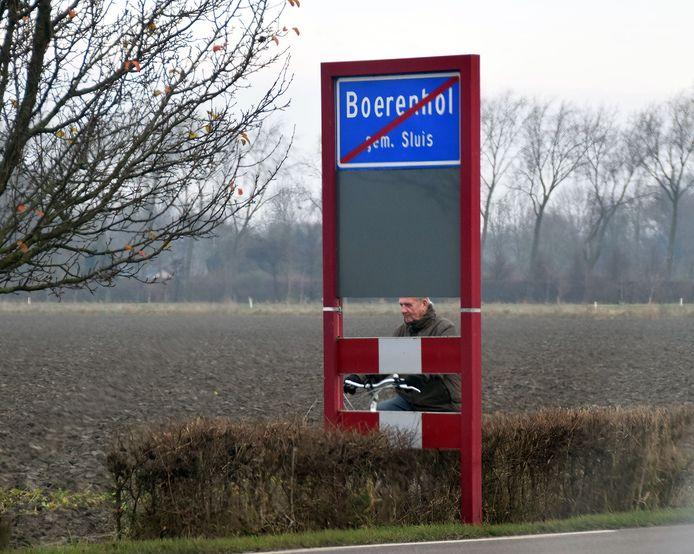 Buurtschap Boerenhol bij Breskens.