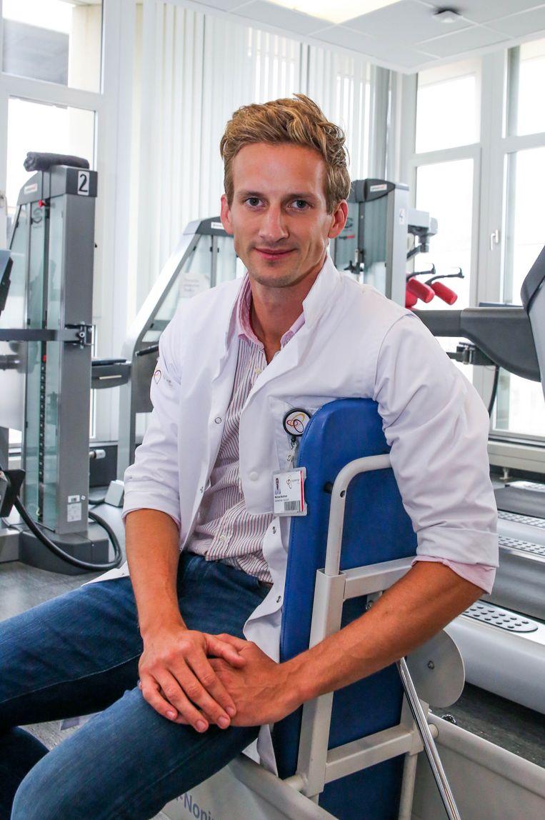 Michaël Bultheel werkt op de afdeling fysische geneeskunde bij AZ Groeninge.