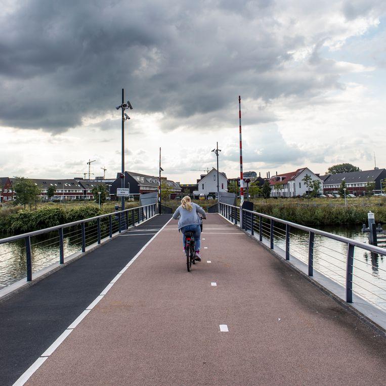 De Kadoelenbrug. Beeld Lin Woldendorp