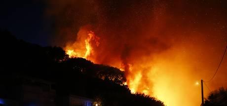 Hevige bosbranden in zuiden van Frankrijk nabij Saint-Tropez