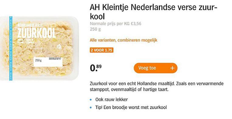 'Koopje' bij Albert Heijn Beeld