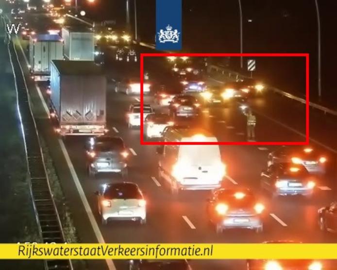 Twee rijstroken A58 dicht richting Tilburg na ongeval bij Best