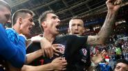 Hier zijn ze dan: de unieke foto's van de fotograaf die gisteren bedolven raakte onder de helft van de Kroatische selectie