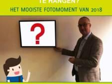 Wethouder Wierden mag mooiste foto van 2018 in werkkamer ophangen