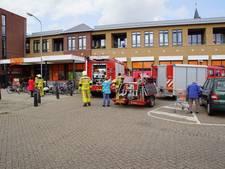Coop in Varsseveld ontruimd door brand