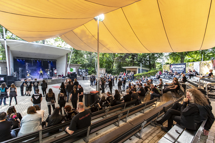 TT-2019-010908 - EIBERGEN - metalfest in het openluchttheater Editie: Achterhoek  Marieke Amelink - MA20190518