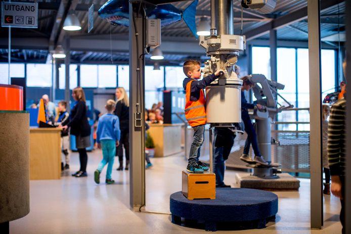 Techniekmuseum Oyfo in bedrijf.