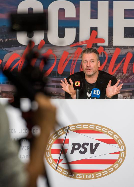 Rob Scheepers in PSV-stadion