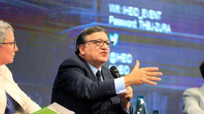 """Opnieuw heibel over """"lobbywerk"""" José Manuel Barroso voor zakenbank Goldman Sachs"""
