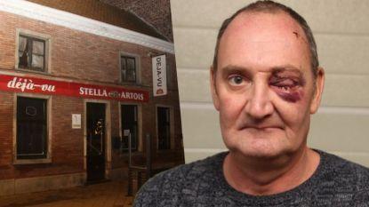 """Cafébaas Déjà-Vu terug thuis na gewelddadige overval: """"Geluk gehad dat ik het kan navertellen en dat ik mijn oog niet kwijt ben"""""""