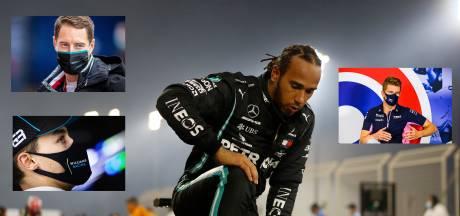 Wie krijgt dat felbegeerde kampioenskuipje van Hamilton in Bahrein?