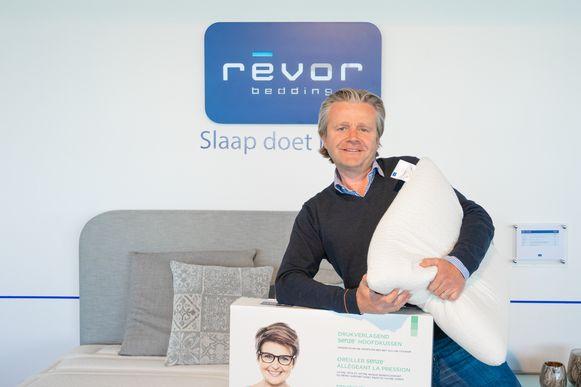 Matrassen- en beddenfabrikant Revor Group uit Kuurne pakt uit met hoofdkussens en matrasbeschermers met antibacteriële en virus reducerende werking.