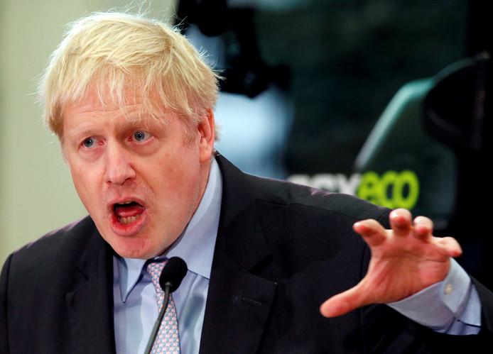 Boris Johnson wil Theresa May graag opvolgen als leider van de Conservatieve Partij.