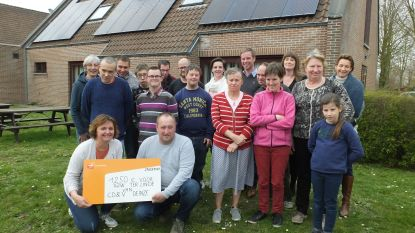 CD&V Deinze schenkt 1.250 euro aan vzw Ter Linde