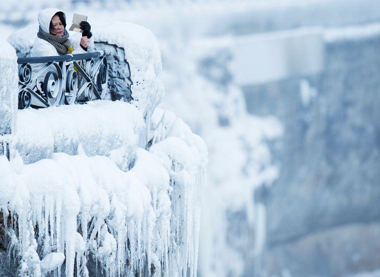 Wie nu naar de Niagara Falls gaat, neemt maar beter véél foto's. Zodat diegenen thuis geloven dat de watervallen deels bevroren zijn.