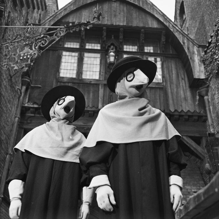 De snaveldokters uit Floris, jeugdserie uit 1969. Beeld Hollandse Hoogte / Nederlands Instituut voor Beeld en Geluid