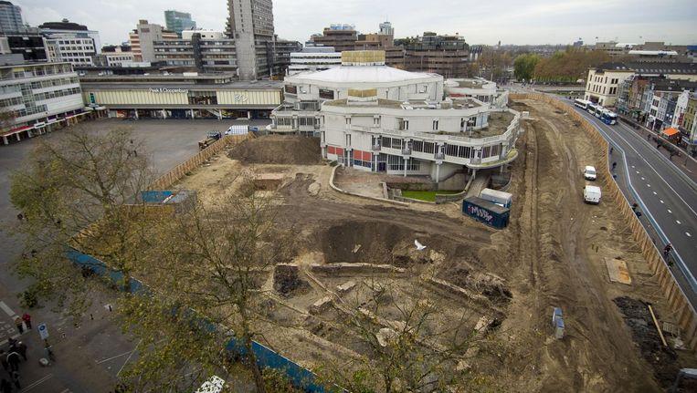 Stationsgebied Utrecht, de plaats waar het bodemonderzoek plaatsvond Beeld anp