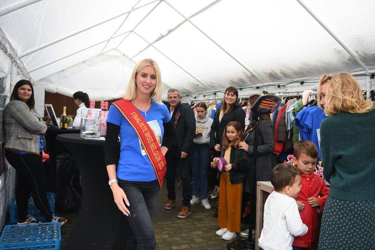 Miss Vlaams-Brabant Elize Baron organiseerde een benefiet voor haar campagne.