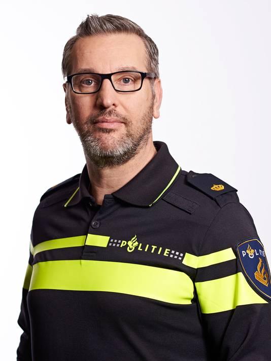 Politiewoordvoerder Ruud Visser.