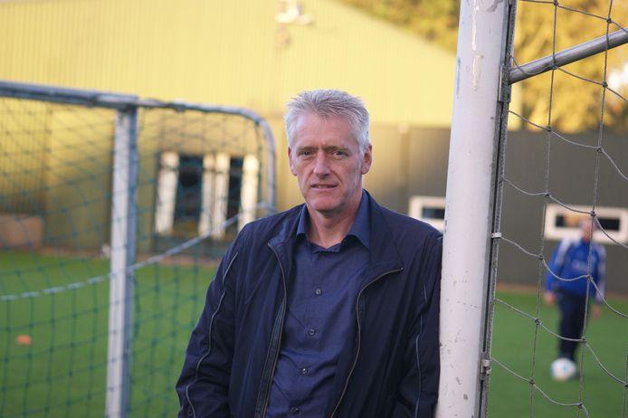 Arie in 't Veld, voorzitter van FC Dubbeldam.