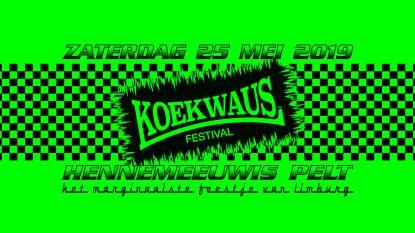 Rapper Sjors topt nieuwe affiche Koekwaus Festival
