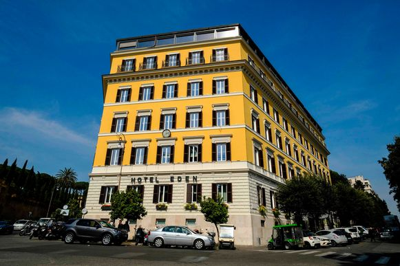 Hotel Eden in Rome.