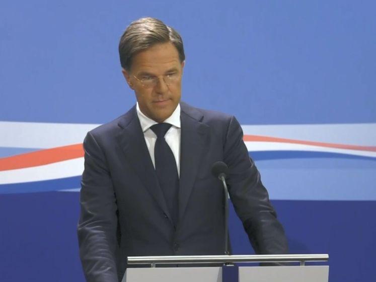 Mark Rutte reageert op de zware economische crisis
