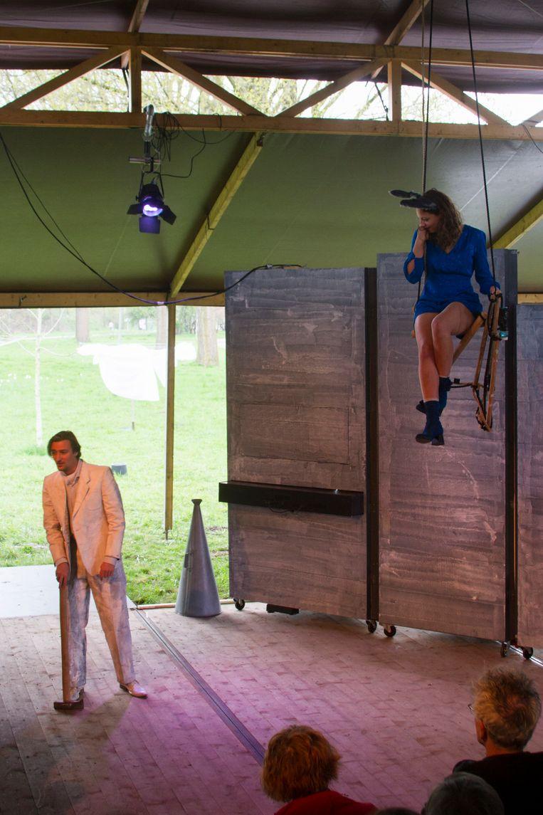 Circus Reve, 15 april 2018, Amsterdam Beeld Chris Rovroy