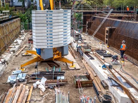 Deadline aannemer ligt 'iets achter op ideale schema' met bouw Sint Sebastiaansbrug