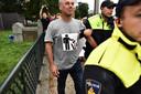 Voorman Pegida opnieuw afgevoerd door de politie