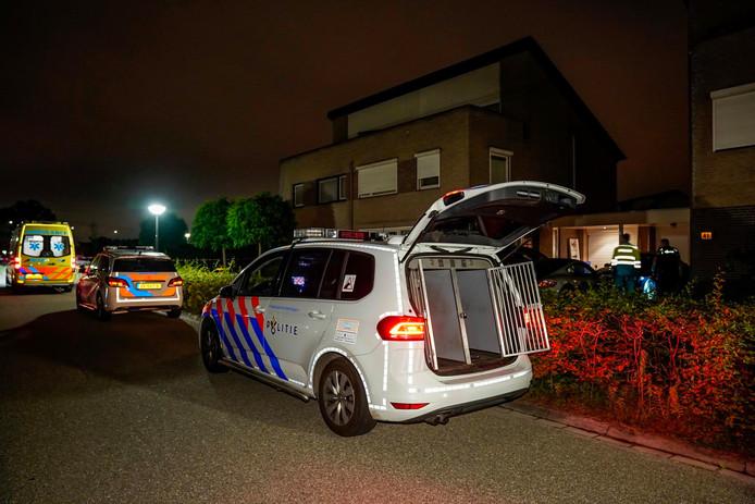 De Academielaan in Raamsdonksveer, waar in de nacht van vrijdag op zaterdag een schietincident plaatsvond