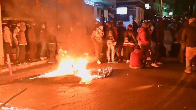 Confrontaties tussen politie en bewoners op Griekse eilanden