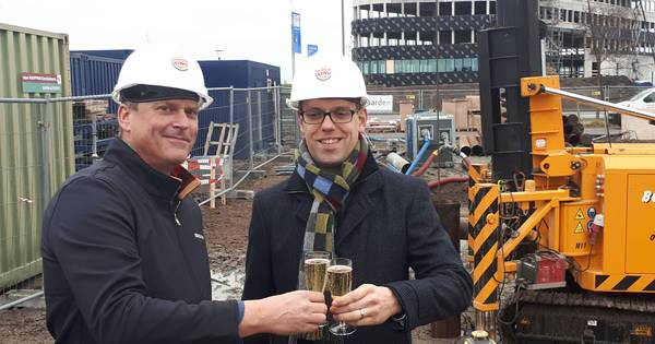 Eerste paal Burger King in Goes geslagen, restaurant gaat in april open
