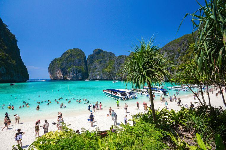 Maya Bay voor de toeristenban