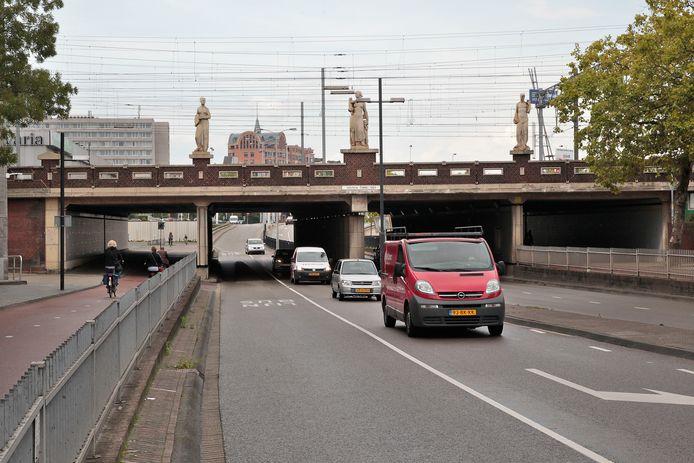 De Vestdijktunnel in het centrum van Eindhoven.