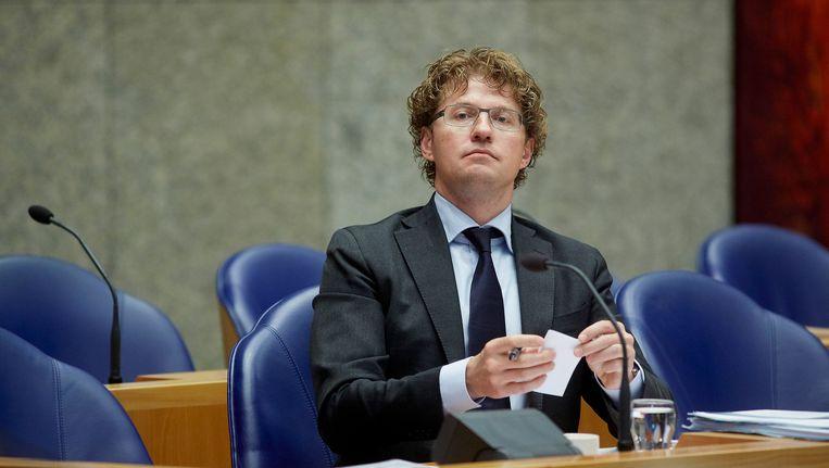Staatssecretaris Dekker. Archieffoto. Beeld anp